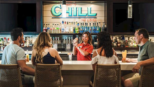 License To Chill Lobby Bar
