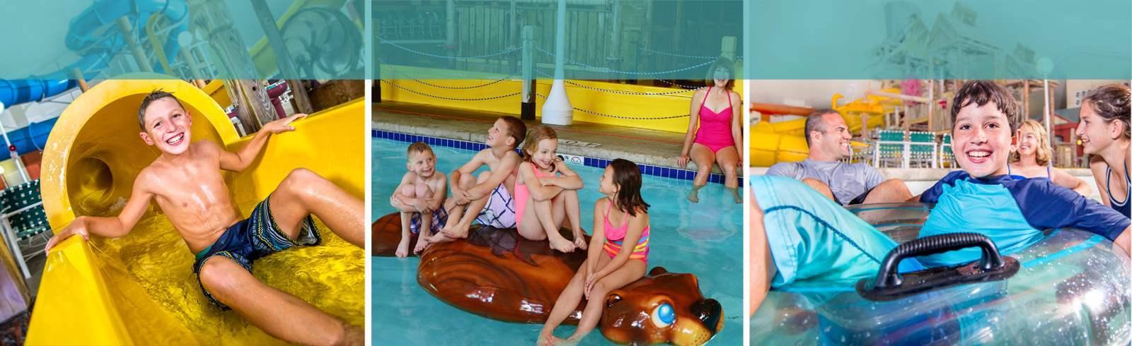 Jolly Mon Indoor Water Park - Margaritaville Lake Resort